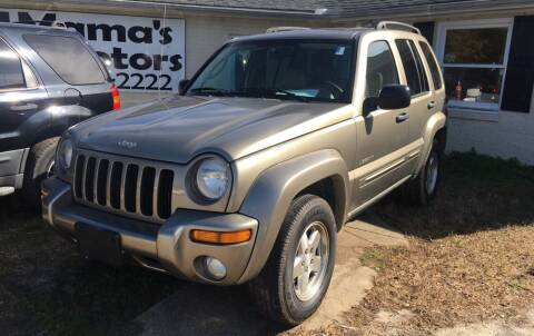 2004 Jeep Liberty for sale at Mama's Motors in Greer SC