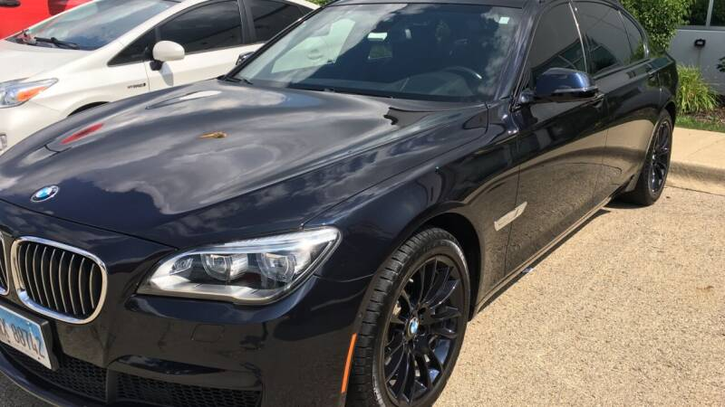 2013 BMW 7 Series for sale at ANYTHING IN MOTION INC in Bolingbrook IL