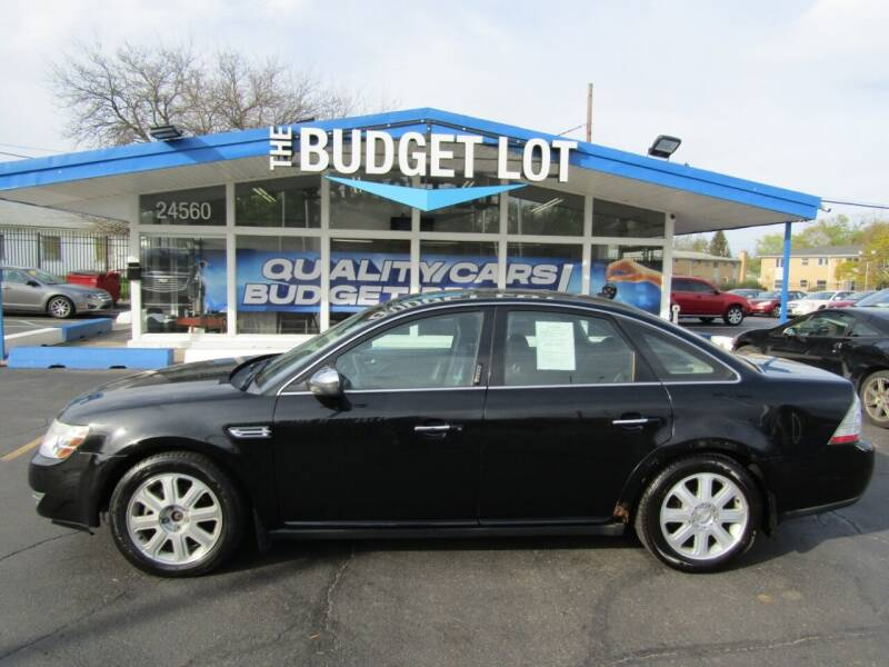 2008 Ford Taurus for sale at THE BUDGET LOT in Detroit MI