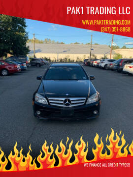 2010 Mercedes-Benz C-Class for sale at Pak1 Trading LLC in South Hackensack NJ