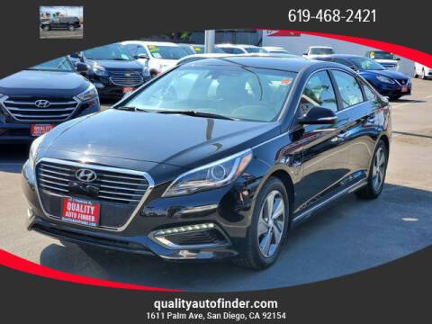 2016 Hyundai Sonata Plug-in Hybrid for sale at QUALITY AUTO FINDER in San Diego CA