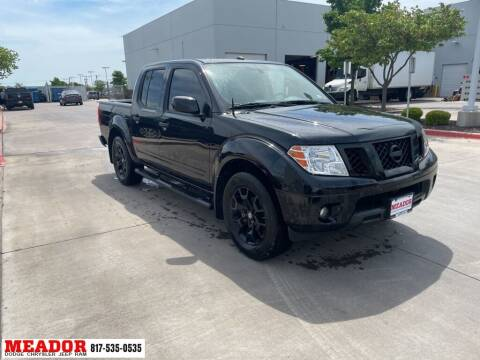 2018 Nissan Frontier for sale at Meador Dodge Chrysler Jeep RAM in Fort Worth TX
