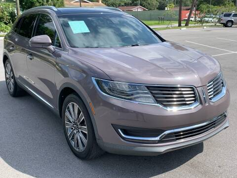2016 Lincoln MKX for sale at Consumer Auto Credit in Tampa FL
