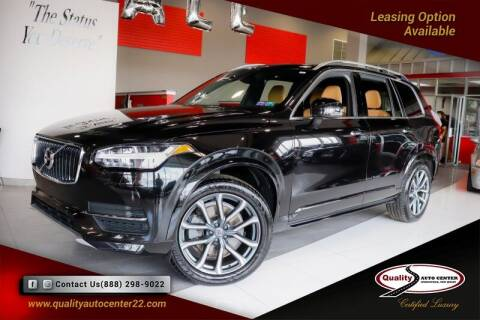 2016 Volvo XC90 for sale at Quality Auto Center of Springfield in Springfield NJ