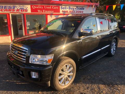 2010 Infiniti QX56 for sale at Best Cars R Us in Plainfield NJ
