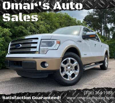2014 Ford F-150 for sale at Omar's Auto Sales in Martinez GA