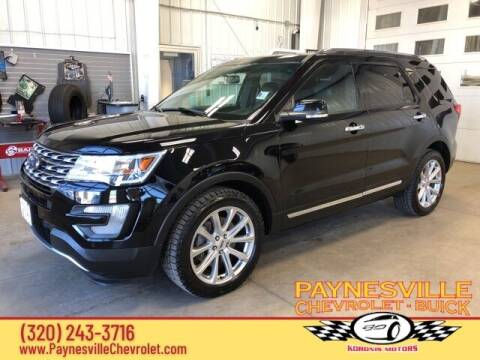 2016 Ford Explorer for sale at Paynesville Chevrolet - Buick in Paynesville MN