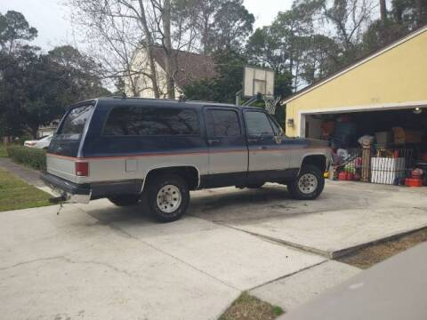 1989 Chevrolet Suburban for sale at Classic Car Deals in Cadillac MI