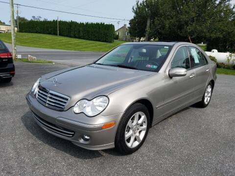 2007 Mercedes-Benz C-Class for sale at John Huber Automotive LLC in New Holland PA