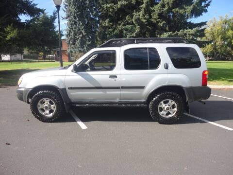 2000 Nissan Xterra for sale at TONY'S AUTO WORLD in Portland OR