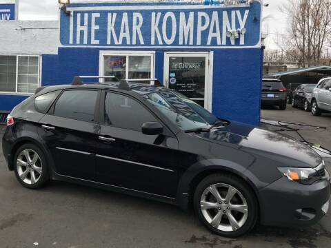 2009 Subaru Impreza for sale at The Kar Kompany Inc. in Denver CO