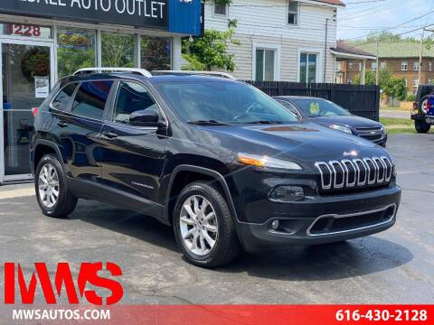 2014 Jeep Cherokee for sale at MWS Wholesale  Auto Outlet in Grand Rapids MI