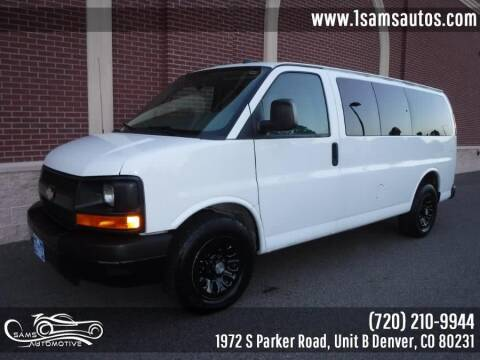 2012 Chevrolet Express Cargo for sale at SAM'S AUTOMOTIVE in Denver CO