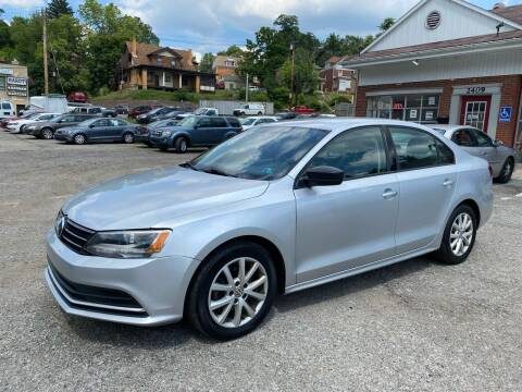 2015 Volkswagen Jetta for sale at Fellini Auto Sales & Service LLC in Pittsburgh PA