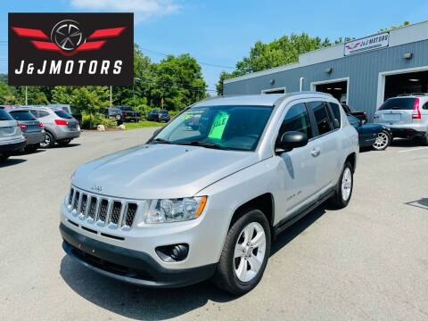 2012 Jeep Compass for sale at J & J MOTORS in New Milford CT