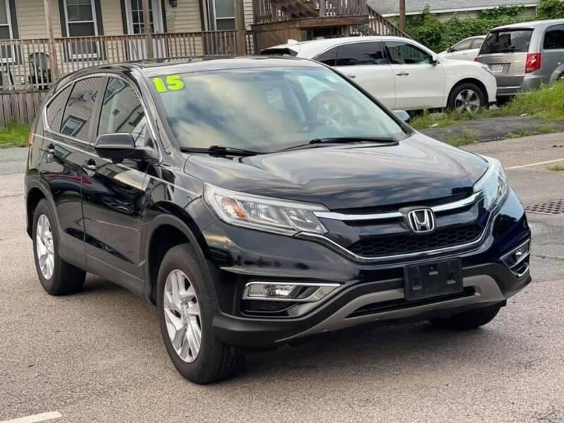 2015 Honda CR-V for sale at Tonny's Auto Sales Inc. in Brockton MA