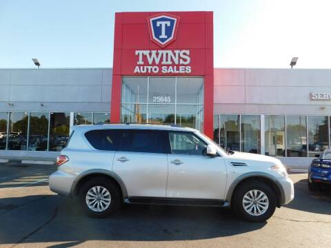 2020 Nissan Armada for sale at Twins Auto Sales Inc Redford 1 in Redford MI