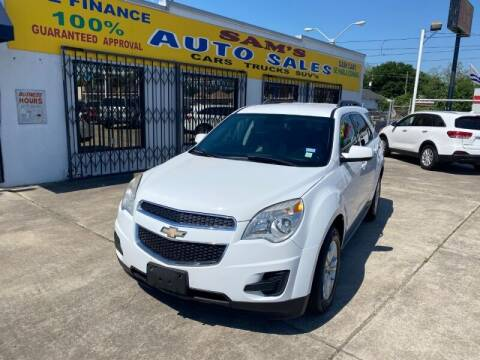 2015 Chevrolet Equinox for sale at Sam's Auto Sales in Houston TX