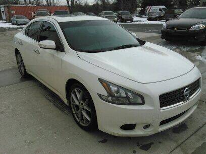 2011 Nissan Maxima for sale at Scott Thomas Automotive in Clinton Township MI