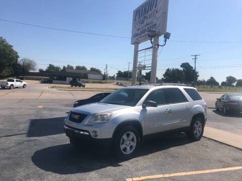 2010 GMC Acadia for sale at Patriot Auto Sales in Lawton OK