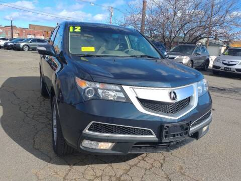 2012 Acura MDX for sale at Merrimack Motors in Lawrence MA