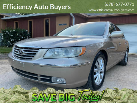 2006 Hyundai Azera for sale at Efficiency Auto Buyers in Milton GA