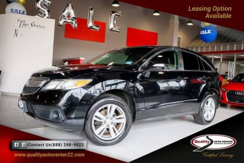 2014 Acura RDX for sale at Quality Auto Center in Springfield NJ