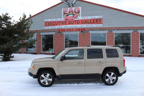 2017 Jeep Patriot for sale at EXECUTIVE AUTO GALLERY INC in Walnutport PA