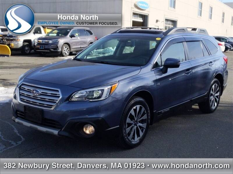 2016 Subaru Outback for sale at 1 North Preowned in Danvers MA
