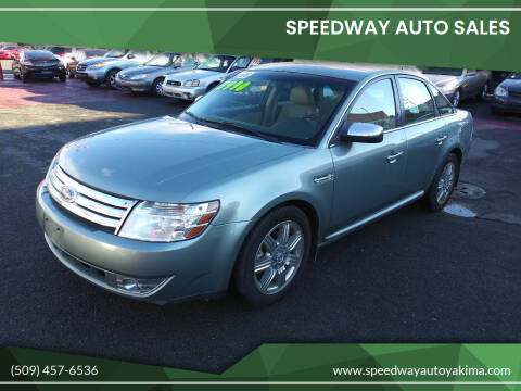 2008 Ford Taurus for sale at Speedway Auto Sales in Yakima WA