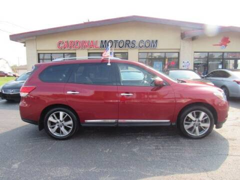 2014 Nissan Pathfinder for sale at Cardinal Motors in Fairfield OH
