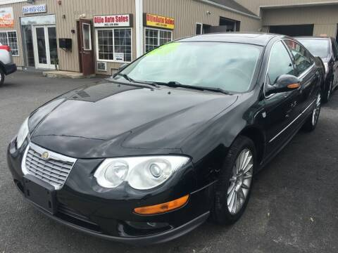 2002 Chrysler 300M for sale at Dijie Auto Sale and Service Co. in Johnston RI