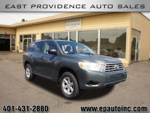 2008 Toyota Highlander for sale at East Providence Auto Sales in East Providence RI