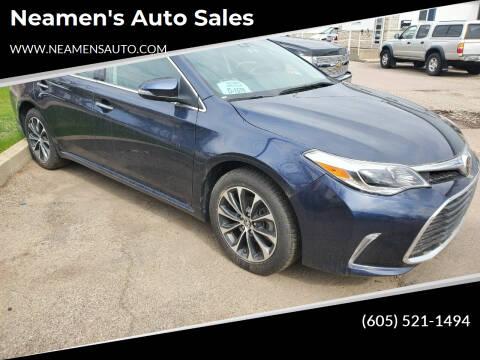 2018 Toyota Avalon for sale at Neamen's Auto Sales in Sioux Falls SD