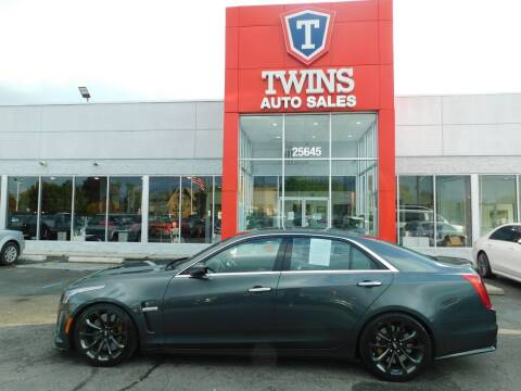 2017 Cadillac CTS-V for sale at Twins Auto Sales Inc Redford 1 in Redford MI