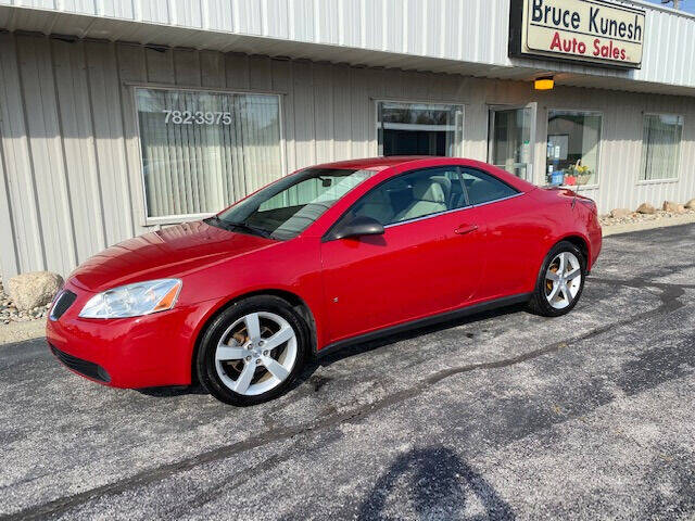2007 Pontiac G6 for sale at Bruce Kunesh Auto Sales Inc in Defiance OH