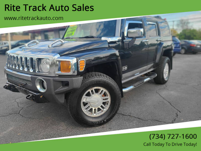 2006 HUMMER H3 for sale at Rite Track Auto Sales in Wayne MI
