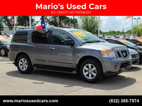 2015 Nissan Armada for sale at Mario's Used Cars in Houston TX
