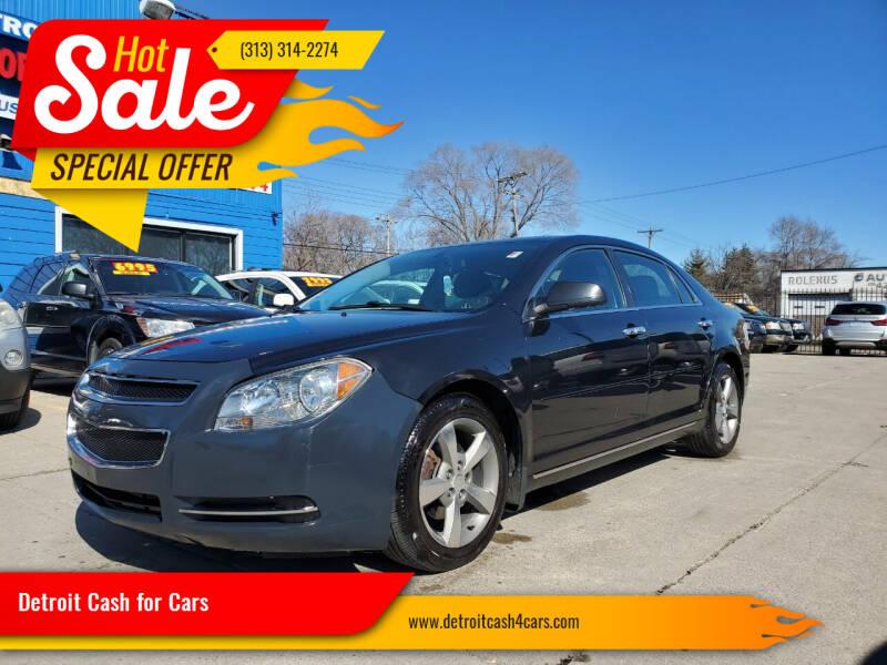 2012 Chevrolet Malibu for sale at Detroit Cash for Cars in Warren MI