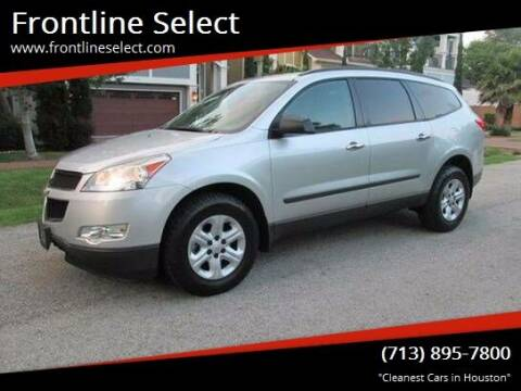 2010 Chevrolet Traverse for sale at Frontline Select in Houston TX