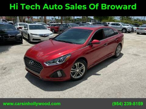 2018 Hyundai Sonata for sale at Hi Tech Auto Sales Of Broward in Hollywood FL