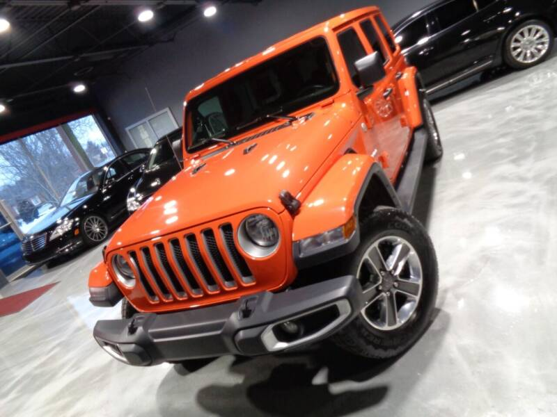2020 Jeep Wrangler Unlimited for sale at Auto Experts in Shelby Township MI