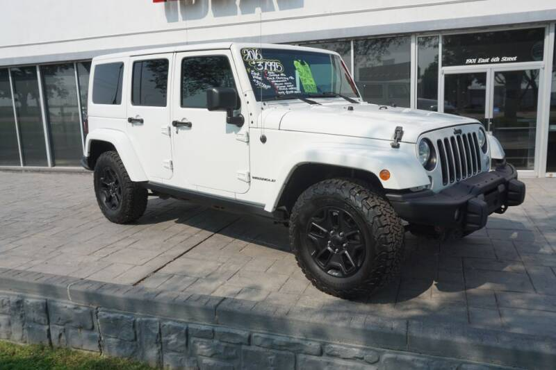 2016 Jeep Wrangler Unlimited for sale at Ideal Wheels in Sioux City IA