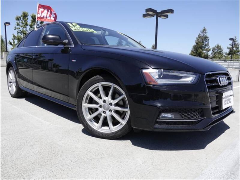 2015 Audi A4 for sale at BAY AREA CAR SALES in San Jose CA