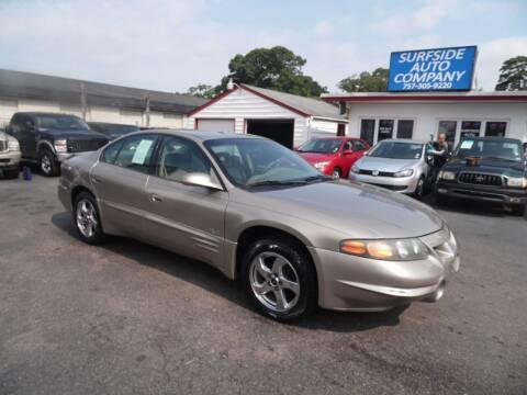 2002 Pontiac Bonneville for sale at Surfside Auto Company in Norfolk VA