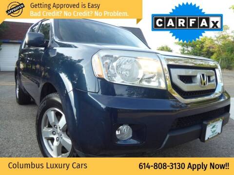 2009 Honda Pilot for sale at Columbus Luxury Cars in Columbus OH