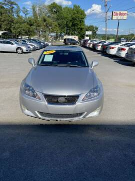 2008 Lexus IS 250 for sale at Elite Motors in Knoxville TN