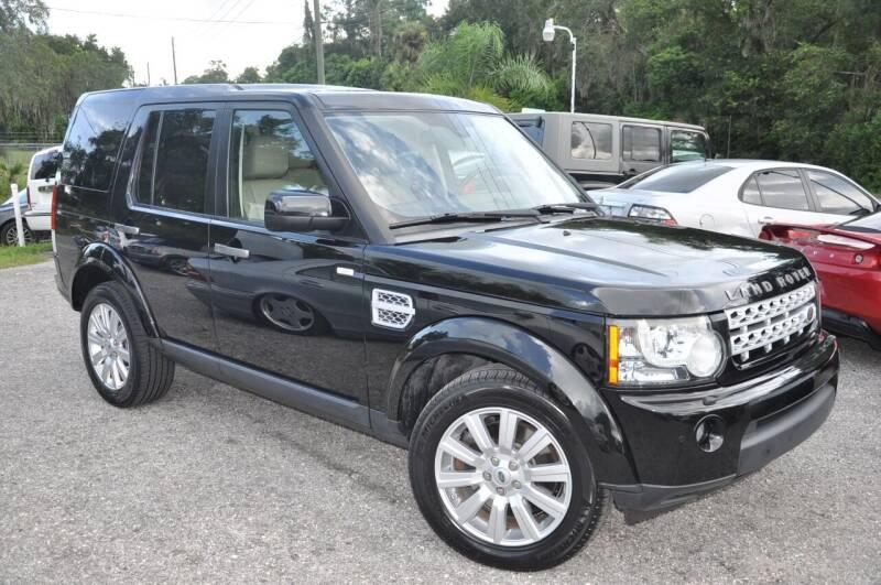 2012 Land Rover LR4 for sale at Elite Motorcar, LLC in Deland FL