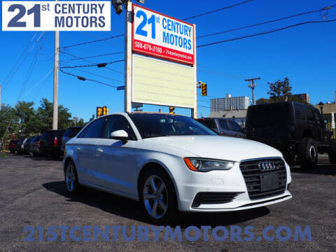 2016 Audi A3 for sale at 21st Century Motors in Fall River MA