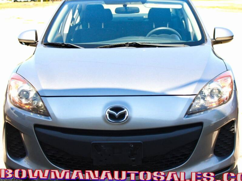2012 Mazda MAZDA3 for sale at Bowman Auto Sales in Hebron OH